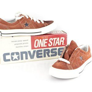 New Vintage Converse One Star Ox Suede Shoes W 7
